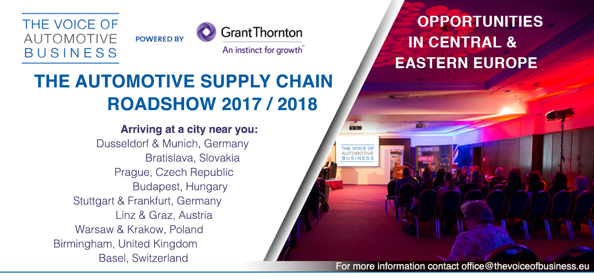 the automotive supply chain roadshow next stop germany the