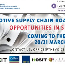 Automotive Supply Chain Roadshow – UK