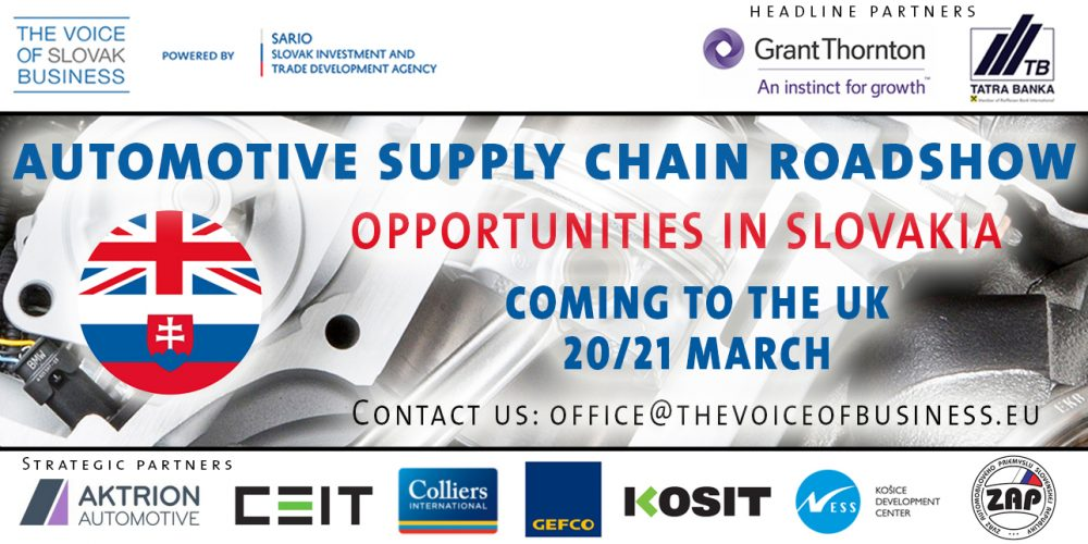Speakers Overview   Automotive Supply Chain Roadshow – UK