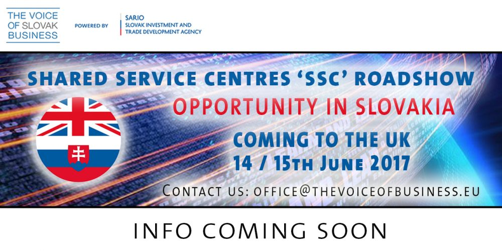 The Shared Service Centre Roadshow