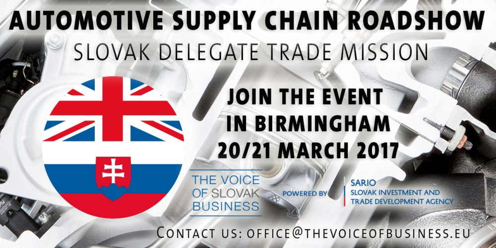 Automotive Supply Chain Roadshow – UK   Join as a delegate
